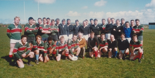 Jed Hosty's 2nds vs Alan McCully legends XV